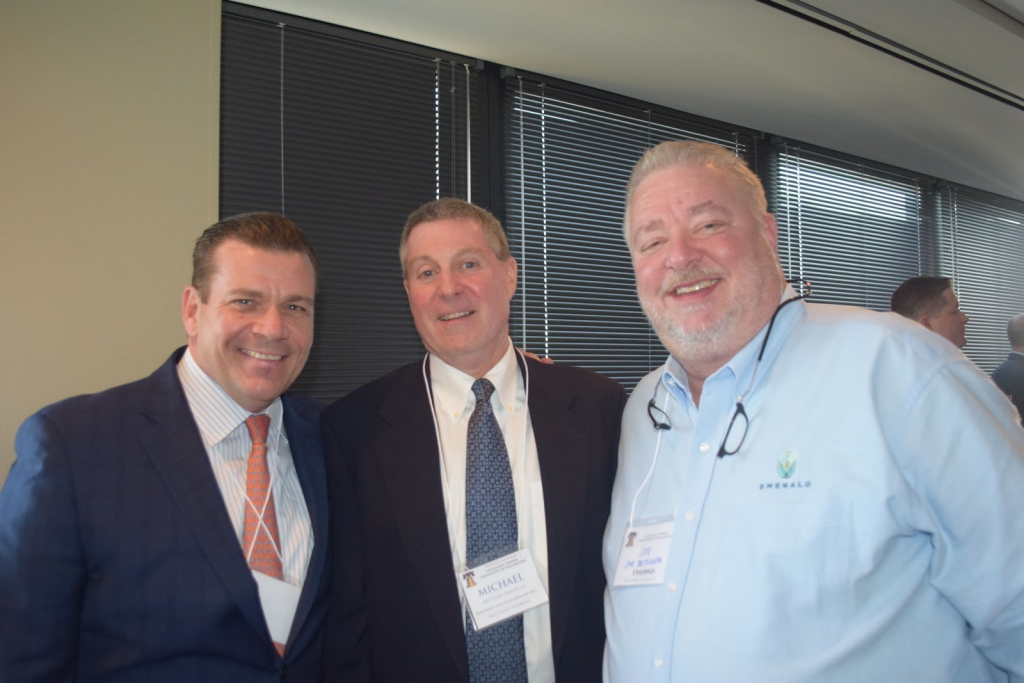 Mike Galantino (CV Brokerage), Mike Kinsella (Boenning & Scattergood), Joe Besecker (Emerald Asset MGMT)