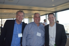 Chris Hurley (Capis), David Tattersall (Brandywine Global), Brian Pool (Instinet)
