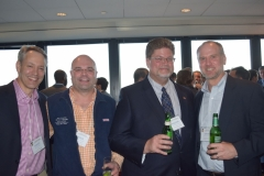 David Zigon (Cowen), Derek Gottschall (Canaccord), Kenneth Brightcliffe (The Pennsylvania Trust Co), Kevin Matson (INTL FC Stone)