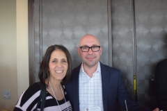 Lori Bucchignano (Cowen), Paul Miglino (Logan Capital MGMT)